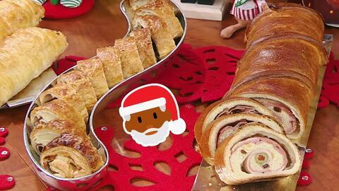 Complace hasta a Santa Claus esta Navidad con un típico y delicioso Pan...