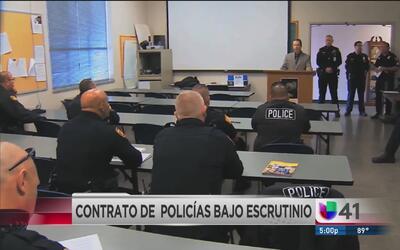 Controversia por nuevo contrato laboral para policías