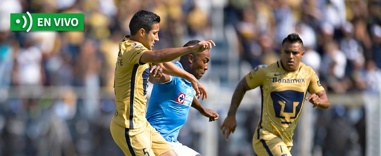 En vivo Cruz Azul vs. Pumas