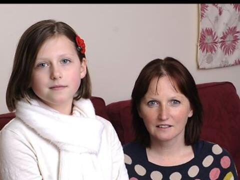 Su nombre es Ella Murphy, de 11 años y sufre una enfermedad muy r...