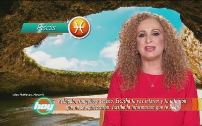 Mizada Piscis 24 de abril de 2017