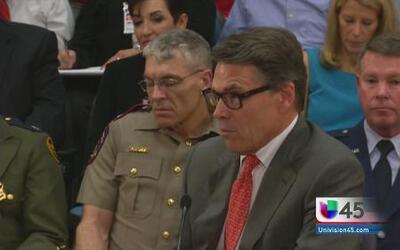 Hay que asegurar la frontera dice Perry