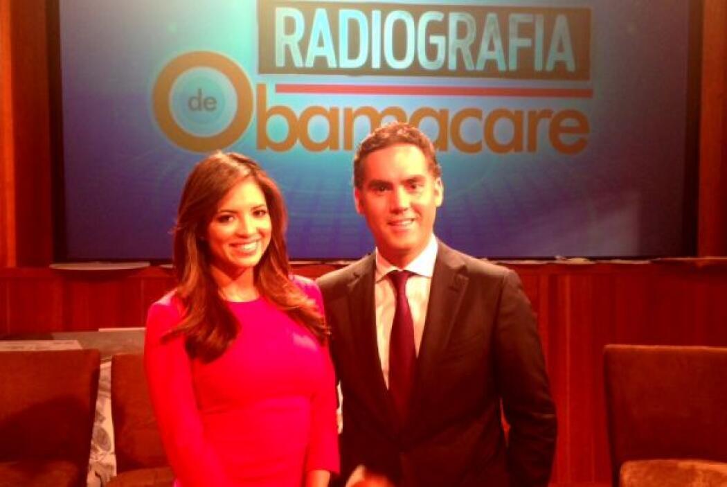 """El programa """"Radiografía de Obamacare"""", fue moderado por los conocidos p..."""