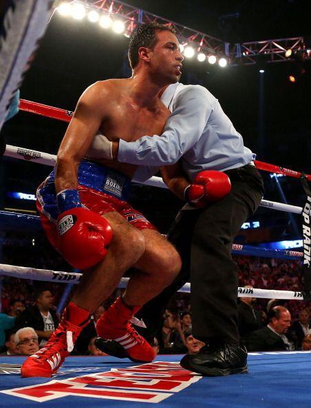 Rodríguez nunca estuvo a gusto en el ring, se le notó desde el primer se...