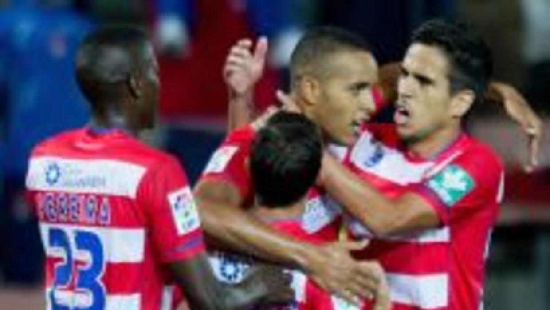 Granada ganó su primer partido de la liga española.