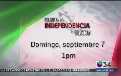 Todo listo para el Desfile de Independencia de México