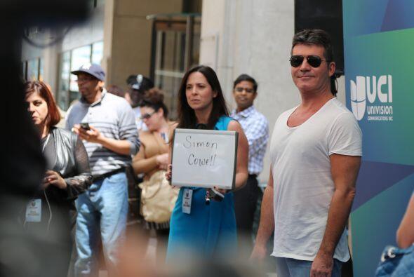 Simon Cowell, productor que ha ganado fama con programas como American I...