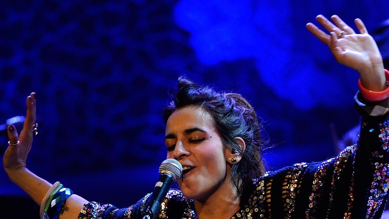 Bebe Performs in Concert in Barcelona
