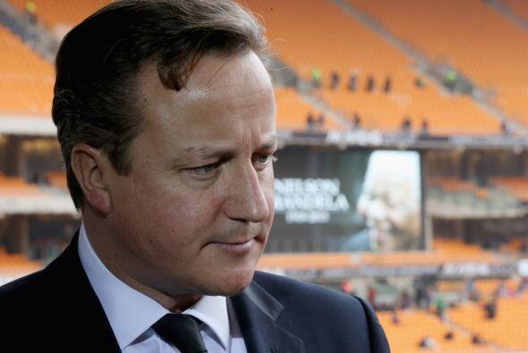David Cameron, el primer ministro de Reino Unido, fue de los primeros lí...