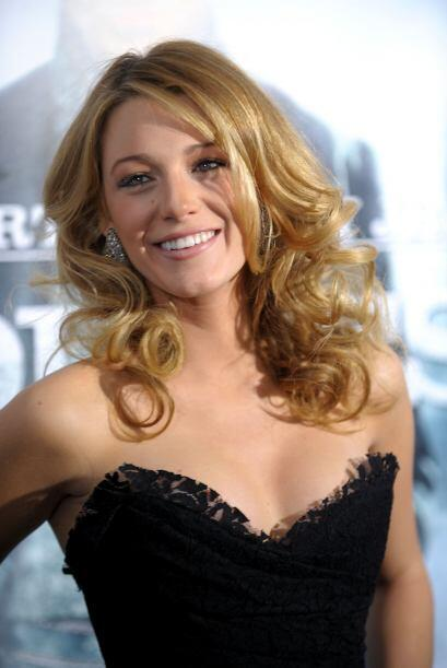 """Esta actriz protagonizó la cinta """"Linterna Verde"""" junto..."""