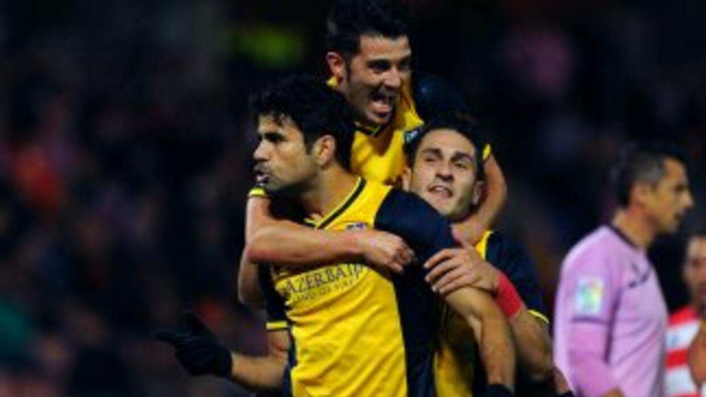 Diego Costa hizo su primer gol luego de decidirse por jugar para España....