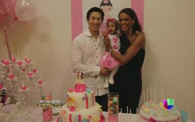 Ilia Calderón celebró el primer cumpleaños de su pequeña Anna