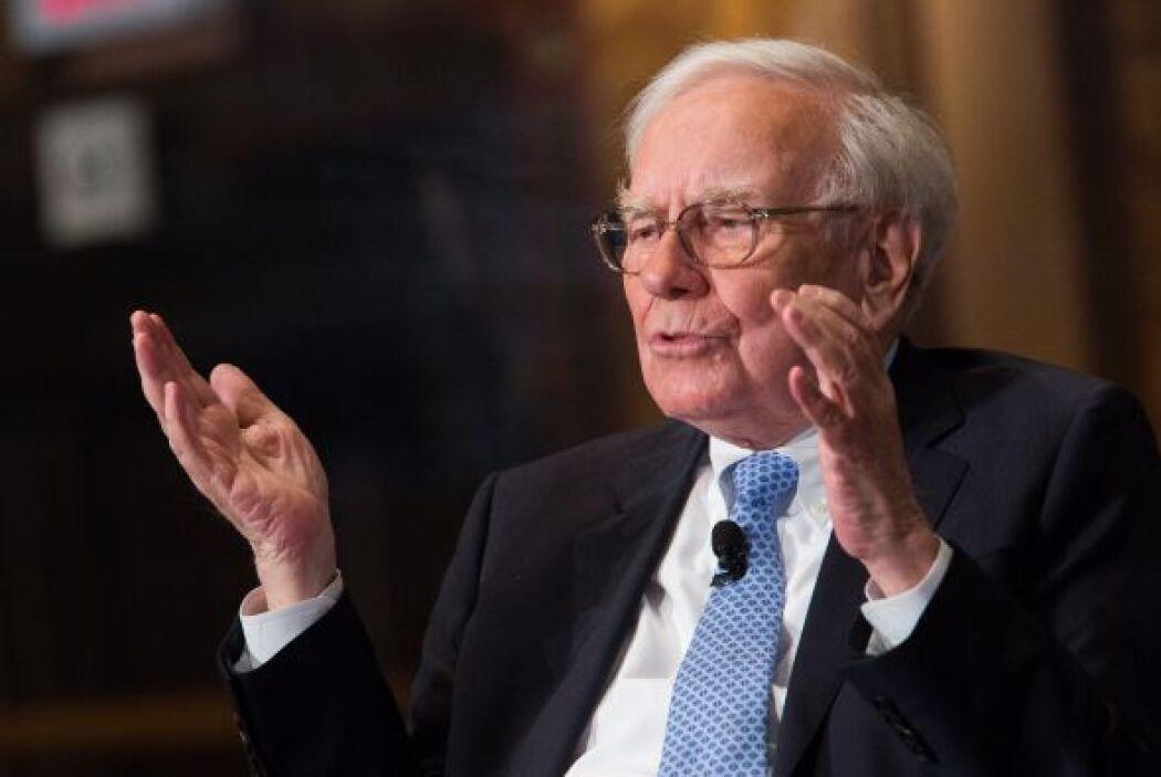 El inversionista y empresario estadounidense Warren Edward Buffett, el c...