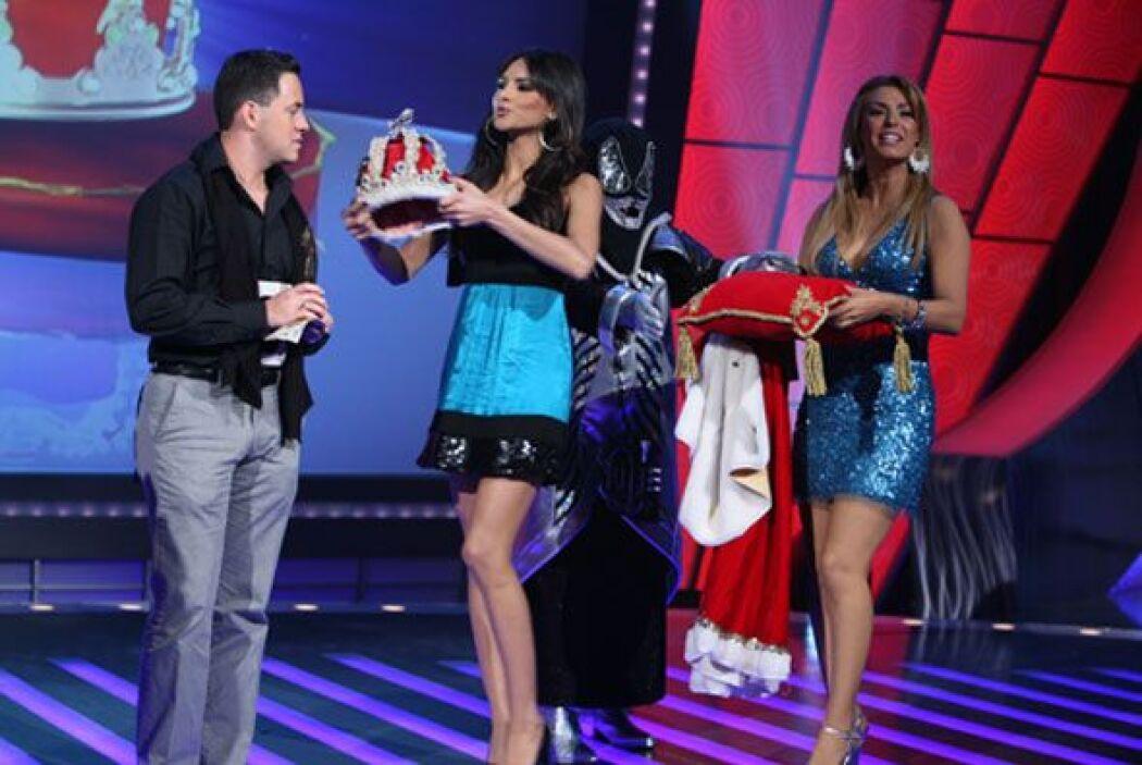 Y aquí la corona para el ganador al mejor cantante, el sobreviviente del...