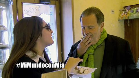 Mi Mundo con Mia episodio 4 parte 1, Raúl fue tentado como nunca antes
