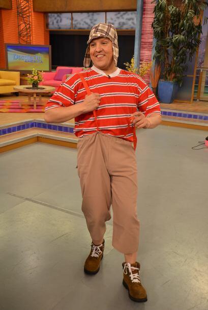 Raúl González como 'El Chavo del 8'