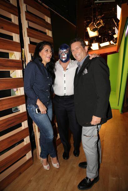 Junto a su esposa y a Miguel Angel Masjuán esperaba ansioso su oportunid...