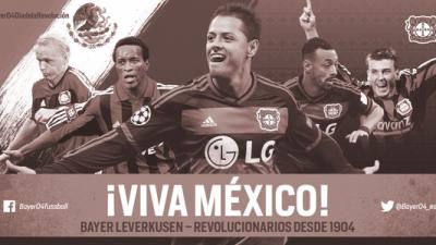 Bayer Leverkusen recordó el inicio de la Revolución Mexicana