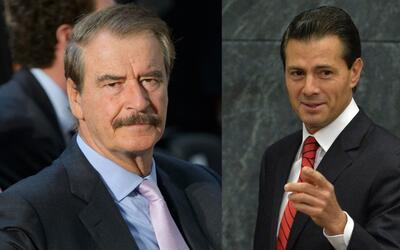 """Vicente Fox le dice a Peña Nieto: """"la dignidad de nuestros paisanos no s..."""
