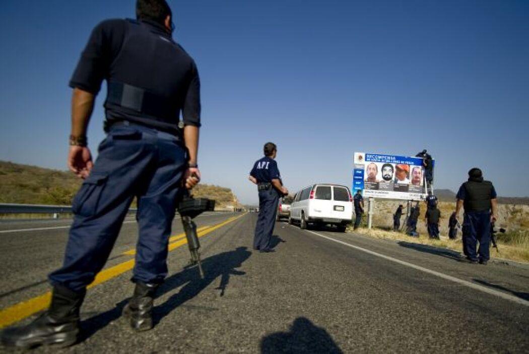 La protección se ha puesto hasta en las autopistas donde se puede ver a...