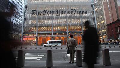 The New York Timeses uno de los medios que aumentó sus suscripciones en...