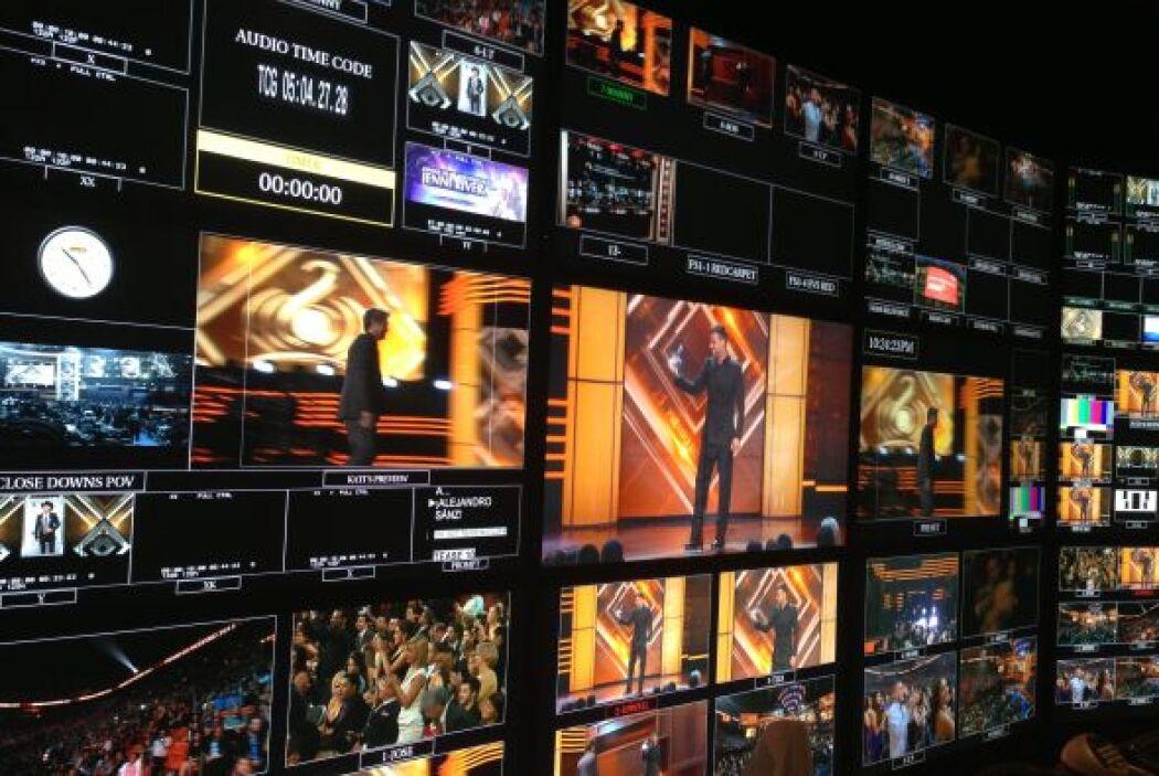 Detrás de cámaras en PLN con los talentos