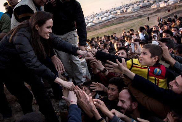 Fue en 2007 cuando Angelina visitó por primera vez dicho país.