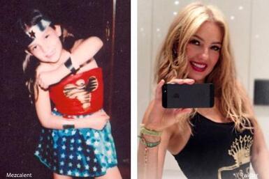 ¡Desde muy pequeña Thalía tenía muy presente que sería una súper mujer!