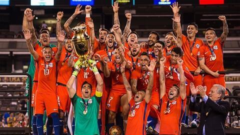 Chile fue el campeón de la Copa América Centenario.