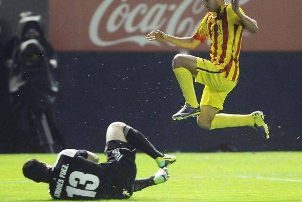 Se estrelló el Barcelona contrala defensa y el portero de Osasuna.