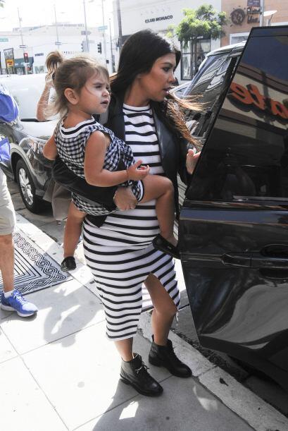 La mayor de las hermanas Kardashian ya tiene dos hijos, fruto de su amor...