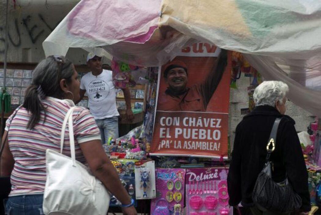 Según la oposición esta manera favorece al chavismo que tiene su fuerza...