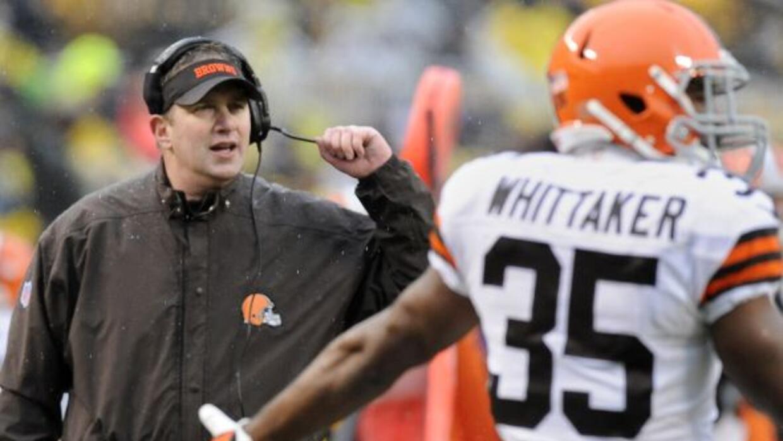 Los Browns despidieron a Rob Chudzinski tras una sola temporada (AP-NFL).