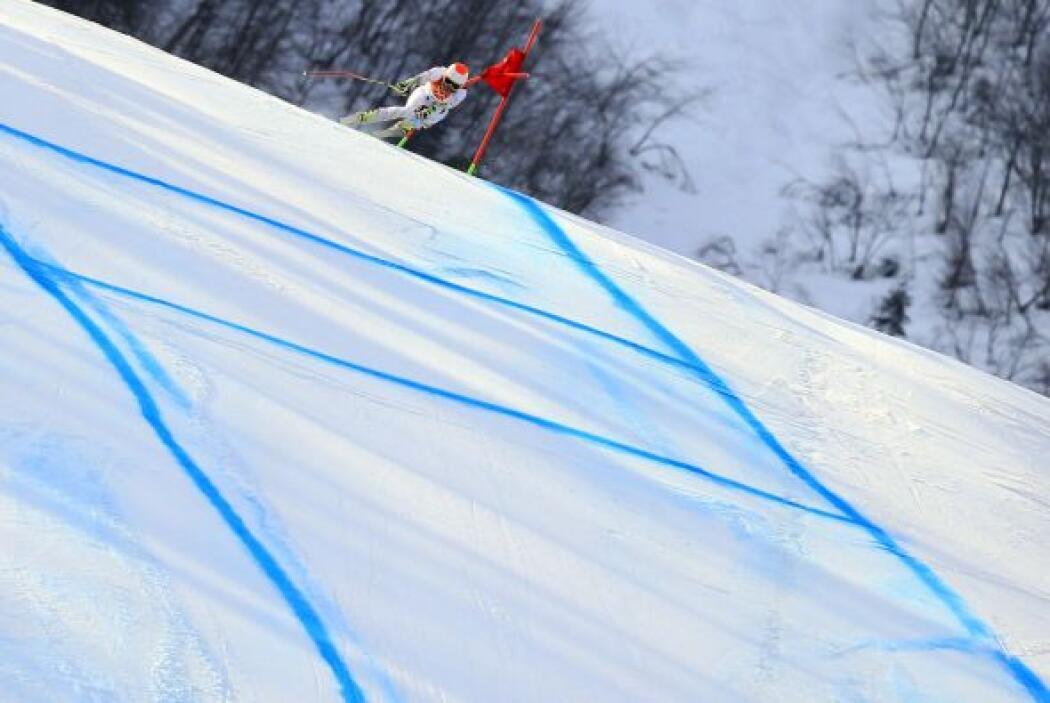 Puestos que no pudo repetir en Sochi ni en el descenso, donde fue octavo...