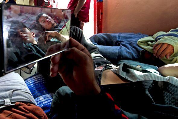 La caravana de madres y familiares de hondureños desaparecidos en México...