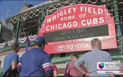 Fiesta y emoción en la casa de los Cubs