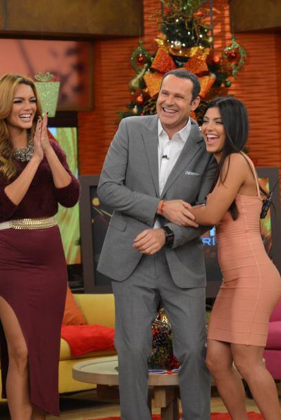 Alan fue la envidia de muchos pues junto a Zuleyka Rivera y a María Elen...