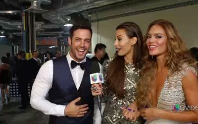 ¡Mucha ropa! Zuleyka Rivera le piden a William Levy que se quite la camisa