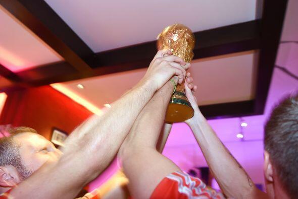 La Copa del Mundo estaba en sus manos.