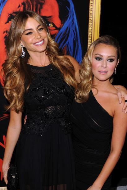 Par de guapas. Sofía Vergara y Alexa Vega son la belleza en la pe...
