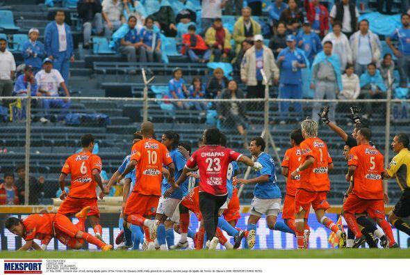 Los azules consiguieron clasificar a las semifinales tras una victoria d...