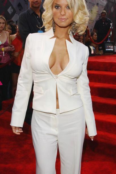 Jessica Simpson era la tentación de los caballeros por lo irresis...