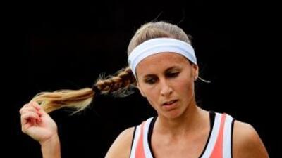 La argentina de 24 años terminó su paso en el Abierto de China.