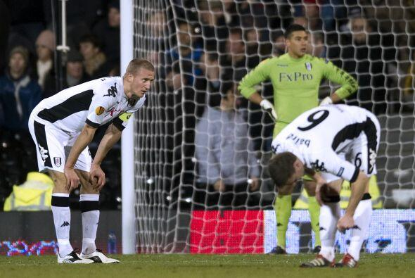 Duro golpe para el Fulham, que con este empate quedó eliminado.