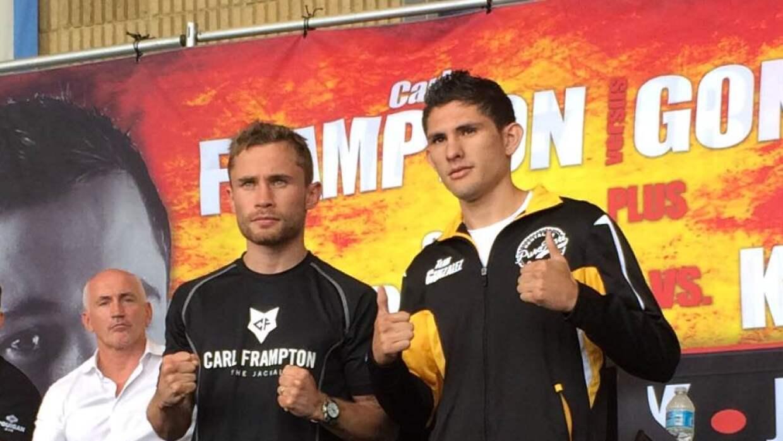 Frampton y González prometieron buen espectáculo (Foto: Notimex).