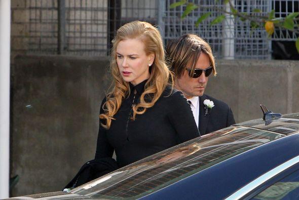 Kidman era una de las más afectadas. Se dice que la actriz le ded...