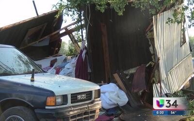 Tormentas destroza varias viviendas en Steward