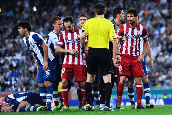 El Atlético tiene un partido más fácil en teoría, al recibir al Espanyol...