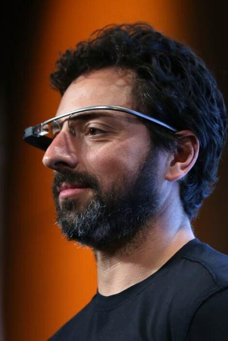 9. Sergey Brin, uno de los creadores del gigante Google, en la posición...