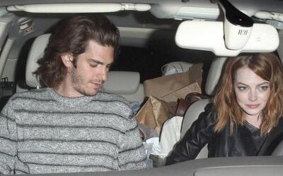 Emma Stone y Andrew Garfield no pudieron estar por más tiempo separados.